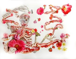 """Monika Malewska's Bacon Paintings"""